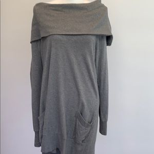 🌺Mossimo Sweater Gray Dress or Long Tunic NWOT